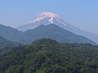2015年5月31日の富士山写真