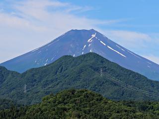 2015年6月28日の富士山写真