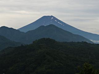 2015年7月8日の富士山写真