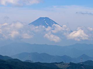2015年7月11日の富士山写真