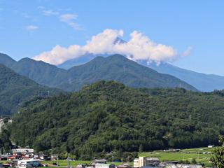 2015年7月15日の富士山写真