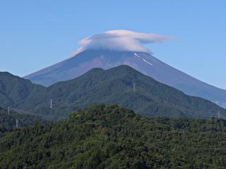 2015年7月19日の富士山写真