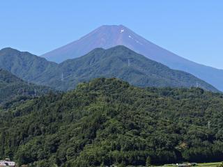 2015年7月22日の富士山写真