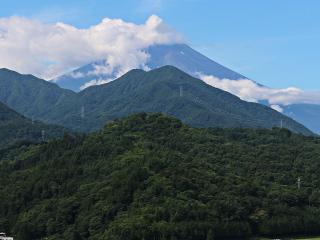 2015年7月24日の富士山写真