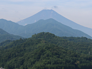 2015年7月26日の富士山写真