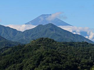 2015年9月19日の富士山写真