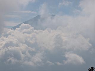 2015年9月21日の富士山写真
