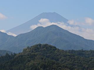 2015年10月3日の富士山写真