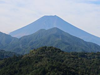 2015年10月4日の富士山写真