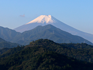 2015年10月12日の富士山写真