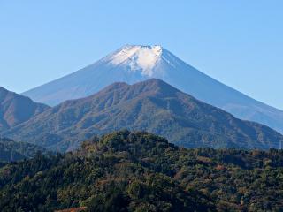 2015年11月4日の富士山写真