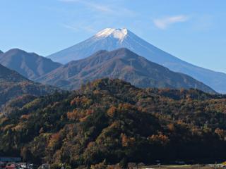 2015年11月16日の富士山写真