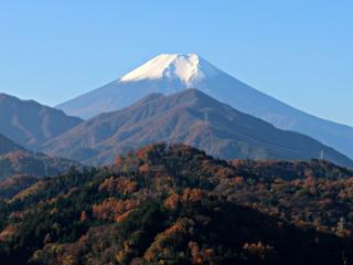 2015年11月21日の富士山写真