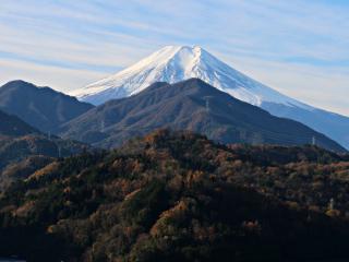 2015年11月29日の富士山写真