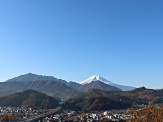 2015年12月1日の富士山写真