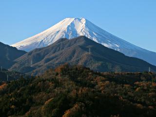 2015年12月5日の富士山写真