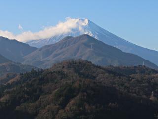 2015年12月17日の富士山写真