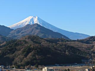 2015年12月19日の富士山写真