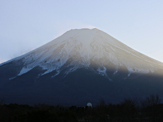 2015年12月26日の富士山写真