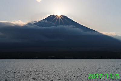 2017年11月5日の富士山写真
