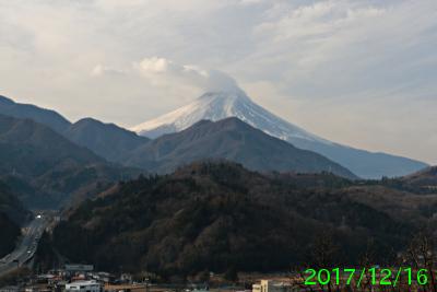 2017年12月16日の富士山写真