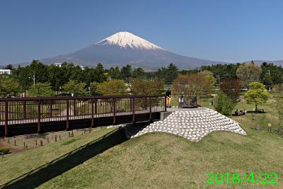 2018年4月22日の富士山写真