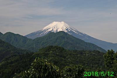 2018年5月12日の富士山写真