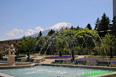 2018年5月14日の富士山写真