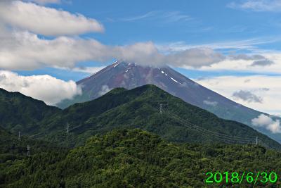 2018年6月30日の富士山写真