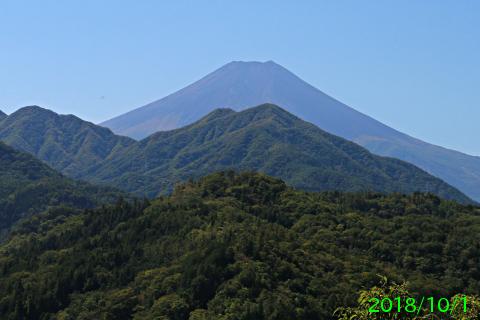 2018年10月1日の富士山写真