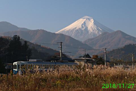 2018年11月27日の富士山写真