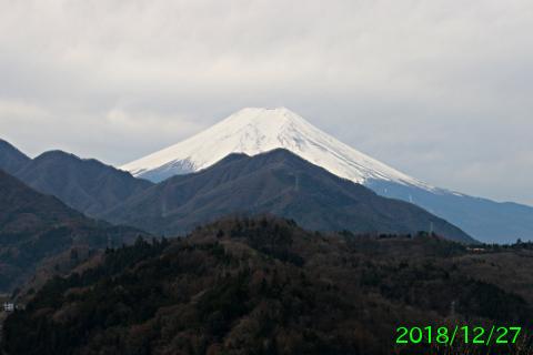 2018年12月27日の富士山写真