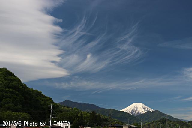 2019年5月9日の富士山