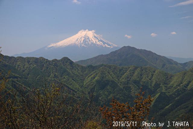 2019年5月11日の富士山
