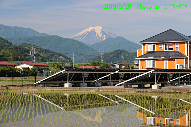 2019年5月26日の富士山