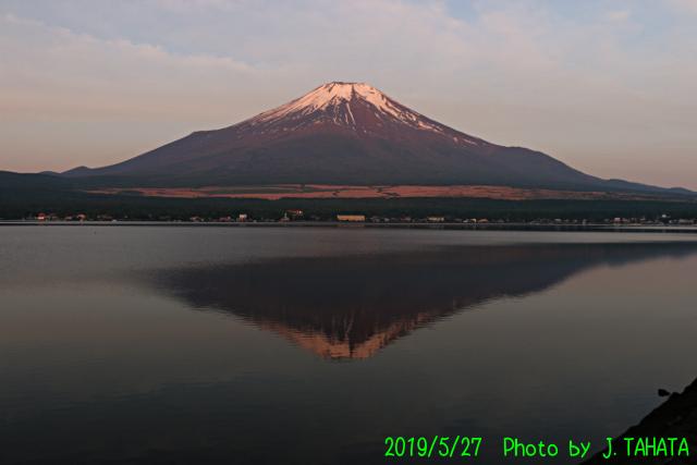 2019年5月27日の富士山