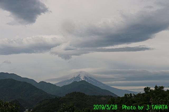 2019年5月28日の富士山