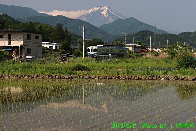 2019年6月6日の富士山