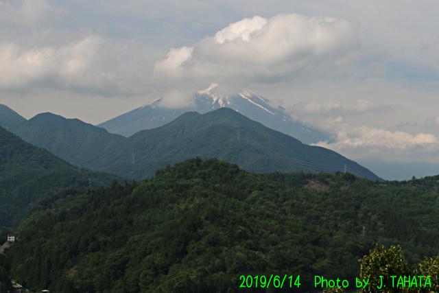 2019年6月14日の富士山