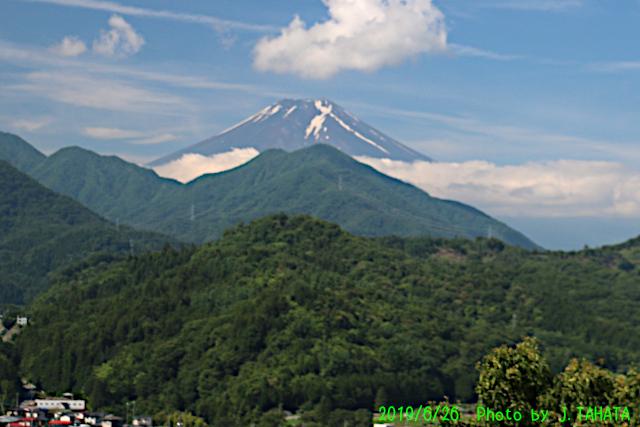 2019年6月26日の富士山