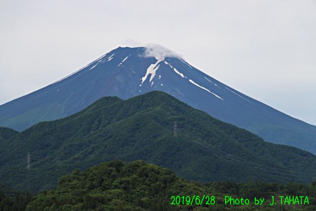 2019年6月28日の富士山