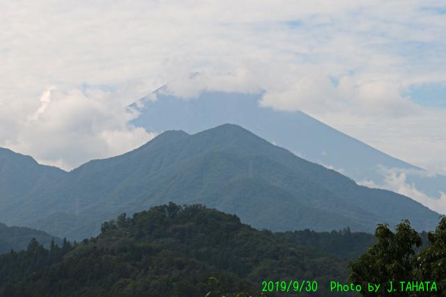 2019年9月30日の富士山